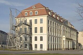 Das Landhaus zu Dresden. Sitz der Städtischen Galerie Dresden und des Stadtmuseums Dresden