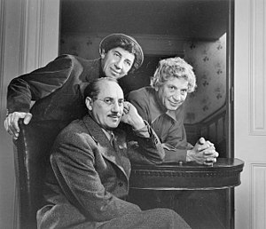 Marx Brothers by Yousuf Karsh, 1948