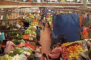English: In the San Juan de Dios Market in Gua...