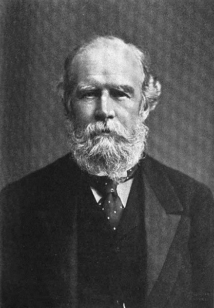 Fotografía de John Lubbock tomada en 1904