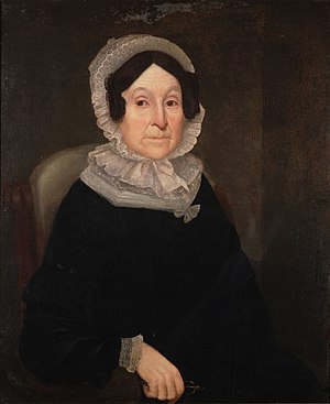 English: Portrait of Rebecca Greenleaf Webster...