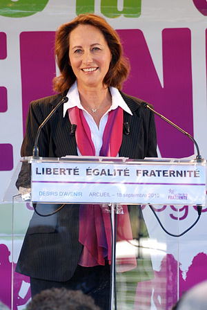 Français : Ségolène Royal lors de la 3ème édit...