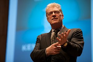 Ken Robinson at the Creative Company Conferenc...