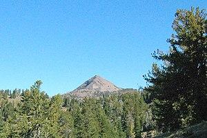 Strawberry Mountain peak.
