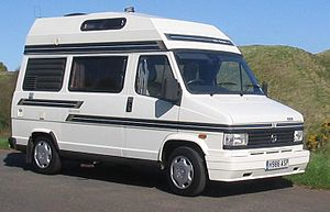 An Autosleeper Harmony Campervan on a Talbot E...