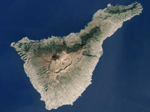 English: Tenerife Island (Canary Islands, Spai...