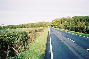 The Straight Mile. Looking north, this is one ...
