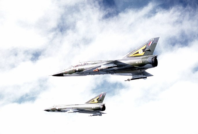 Two Mirage III of the Royal Australian Air Force 2