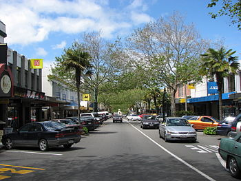 Victoria Avenue, Wanganui, New Zealand