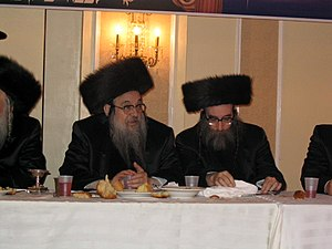 English: Rabbi Berish Horowitz, Spinka Rebbe o...