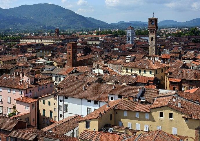 principais cidades da Itália lucca