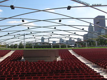 English: Jay Pritzker Pavilion, Chicago