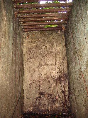 Annamite prison cell