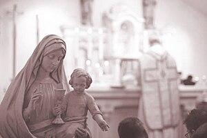 English: The Eucharist -- Bishop Thomas H. Hoo...