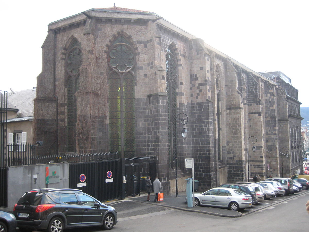 Chapelle Des Cordeliers Clermont Ferrand Wikipdia