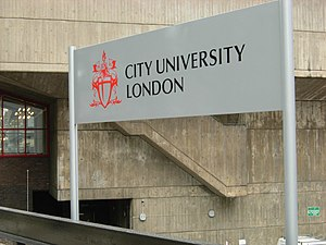 English: City University The City University d...
