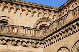 Català: Edifici històric de la Universitat de ...