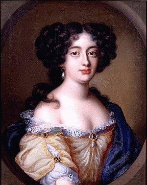 English: Portrait of Hortense Mancini, duchess...