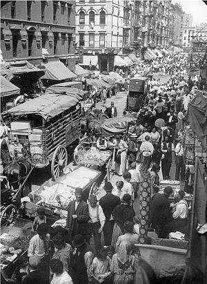 """""""Hester Street, New York City"""""""