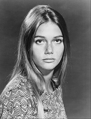 Publicity photo of Peggy Lipton from the telev...