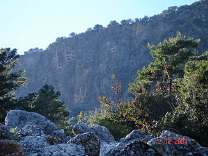 Pinara Ancient Lycian City in Fethiye, Mugla T...