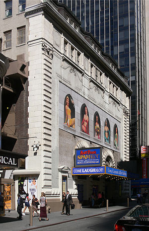 Shubert Theatre, showing Spamalot 225 West 44t...