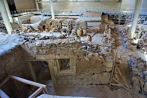 Akrotiri Archaeological Site in Santorini by Joy of Museums - 4
