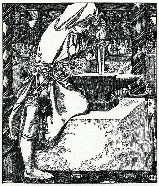 File:Arthur-Pyle How Arthur drew forth ye sword.JPG