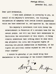 Afbeeldingsresultaat voor balfour verklaring