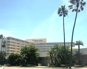 Beverly Hilton Hotel in Beverly Hills, California