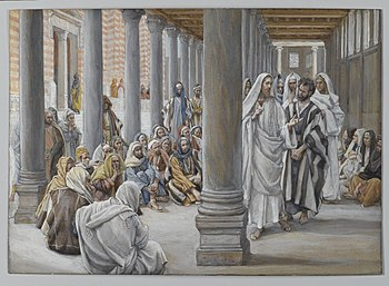 Jesus Walks in the Portico of Solomon