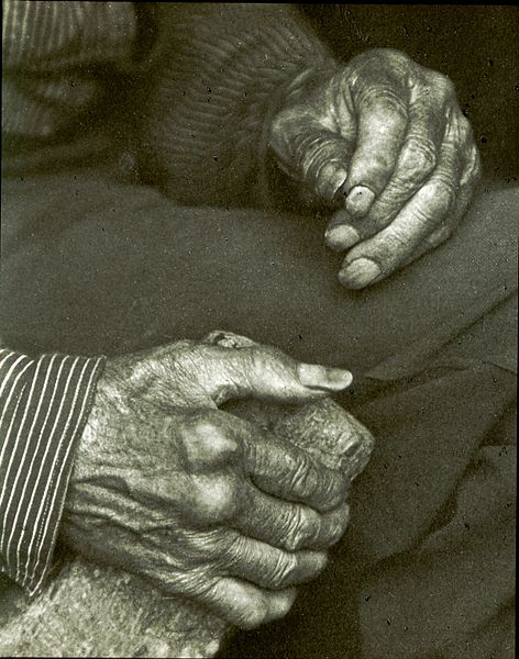 File:Doris Ulmann - Laborers hands.jpg
