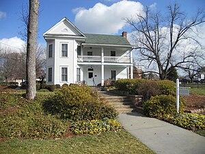 English: The Dunwoody Farmhouse