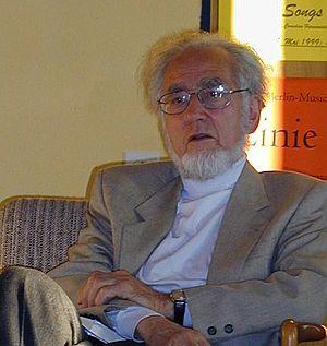 Erhard Eppler 2000 in Ellwangen