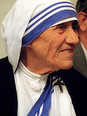 Deutsch: Mutter Teresa (26.8.1919-5.9.1997); 1...