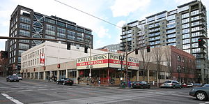 Powell's City of Books in Portland, Oregon.
