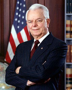 U.S. Senator Robert Byrd of West Virginia
