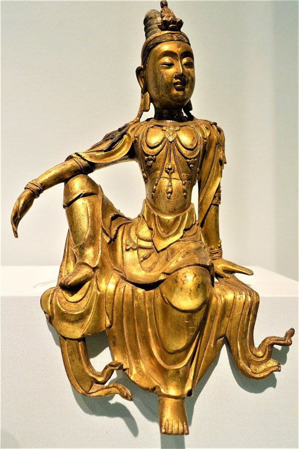 Seated Bodhisattva Avalokiteshvara - Guanyin - Joy of Museums - Asian Art Museum - San Francisco