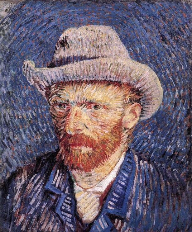 Self-portrait with Felt Hat by Vincent van Gogh