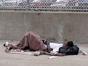 Sleeping on the Sidewalk, Atlanta, Georgia