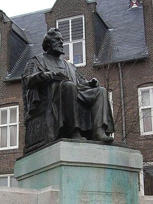 Statue of professor Fransiscus Cornelis Donder...