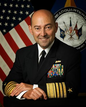 English: ADM James G. Stavridis, Commander EUC...