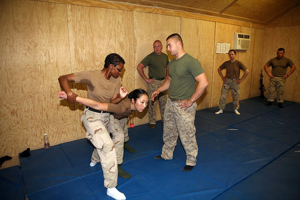 Three Knife Martial Arts