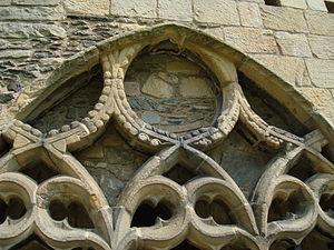 Photograph of Valle Crucis Abbey, Denbighshire...