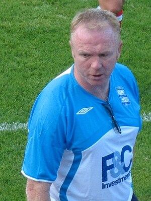 Birmingham City F.C. and former Scotland natio...