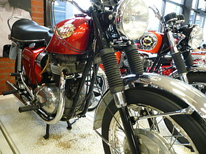 English: BSA Lightning motorcycle 1970
