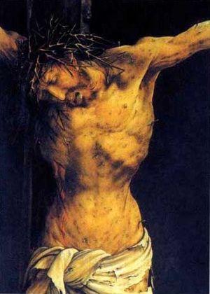 Christ bifrons Issenheim