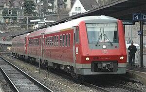 Nederlands: DB train 611 510 op 16 februari 20...