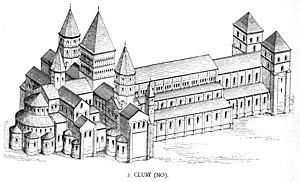 Resultado de imagen para Abadía de Cluny.