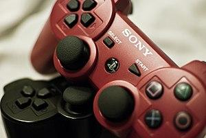 DualShock 3 - Red & Black